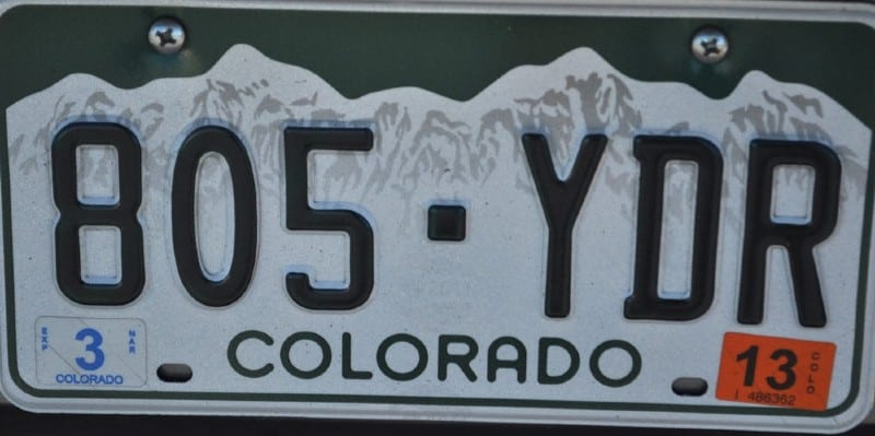 License-plate-game